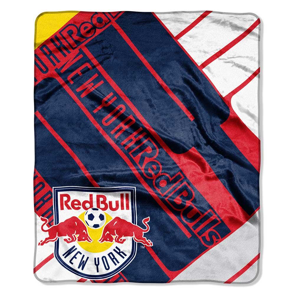 MLS Sporting Kansas City Scramble Plush Raschel Throw Blanket 50 x 60